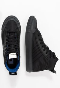Diesel - S-ASTICO MID LACE - High-top trainers - black - 1