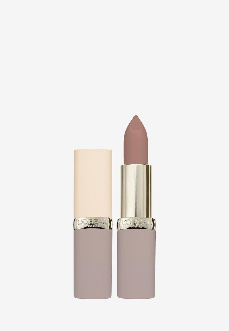 L'Oréal Paris - COLOR RICHE ULTRA MATTE FREE THE NUDES - Rouge à lèvres - 03 no doubts