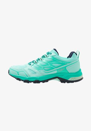 ZANIAH TRAIL SHOE - Trail running shoes - aquamint
