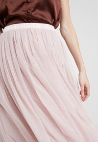 Lace & Beads - VAL SKIRT - A-line skirt - dark pink - 4