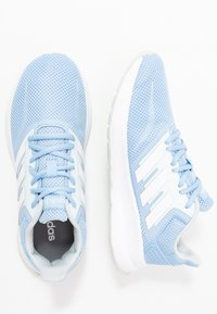 adidas Performance - RUNFALCON - Neutral running shoes - glow blue/footwear white/blue tint - 1