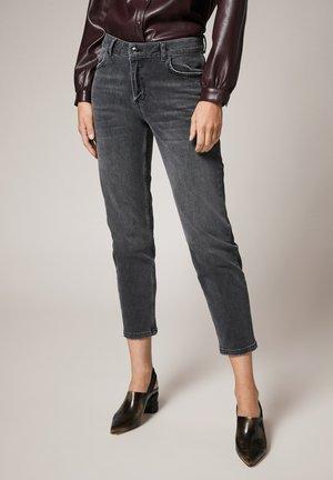 Slim fit jeans - grey stretched den