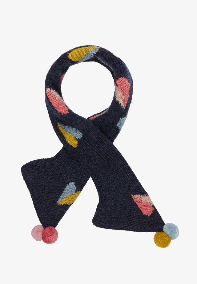 PAPER HEARTS TIPPET SCARF - Sciarpa - beetle blue