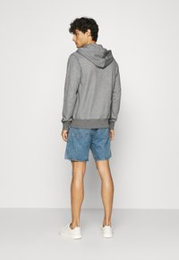 GANT - THE ORIGINAL FULL ZIP HOODIE - Zip-up hoodie - dark grey - 2
