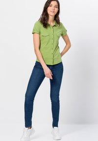 zero - Button-down blouse - grass green - 1