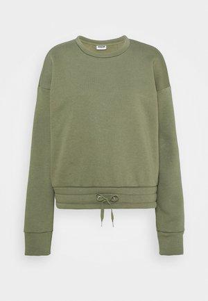 NMNORA - Sweatshirt - dusty olive