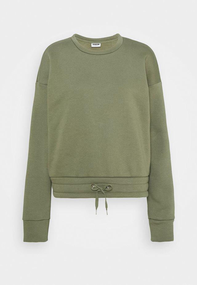 NMNORA - Sweater - dusty olive
