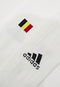 adidas Performance - RBFA BELGIEN A SO - Chaussettes hautes - white - 2