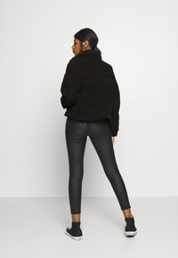 Dr.Denim Petite - PIXLEY PILE JACKET - Winter jacket - black - 2