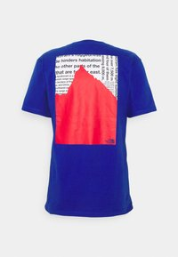 The North Face - KARAKORAM GRAPHIC TEE - Print T-shirt - blue - 0
