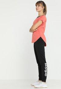 adidas Performance - PANT - Verryttelyhousut - black/white - 1