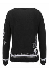 Alba Moda - Jumper - schwarz weiß - 6