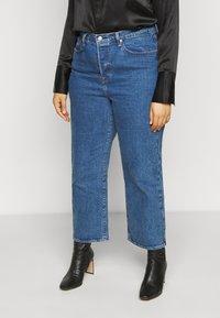 Levi's® Plus - RIBCAGE STRAIGHT - Straight leg jeans - georgie - 0