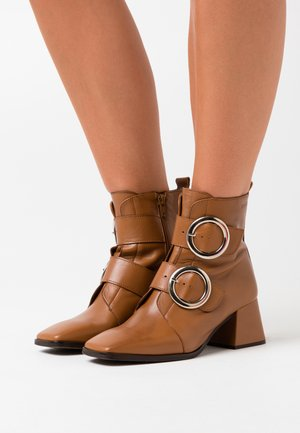 Bottines - camel