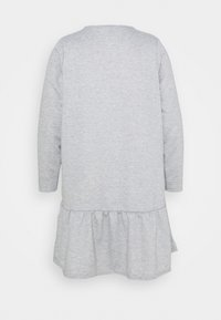 New Look Curves - DROP HEM DRESS - Day dress - grey niu - 1