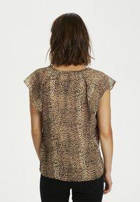 InWear - Blouse - light brown animal - 7