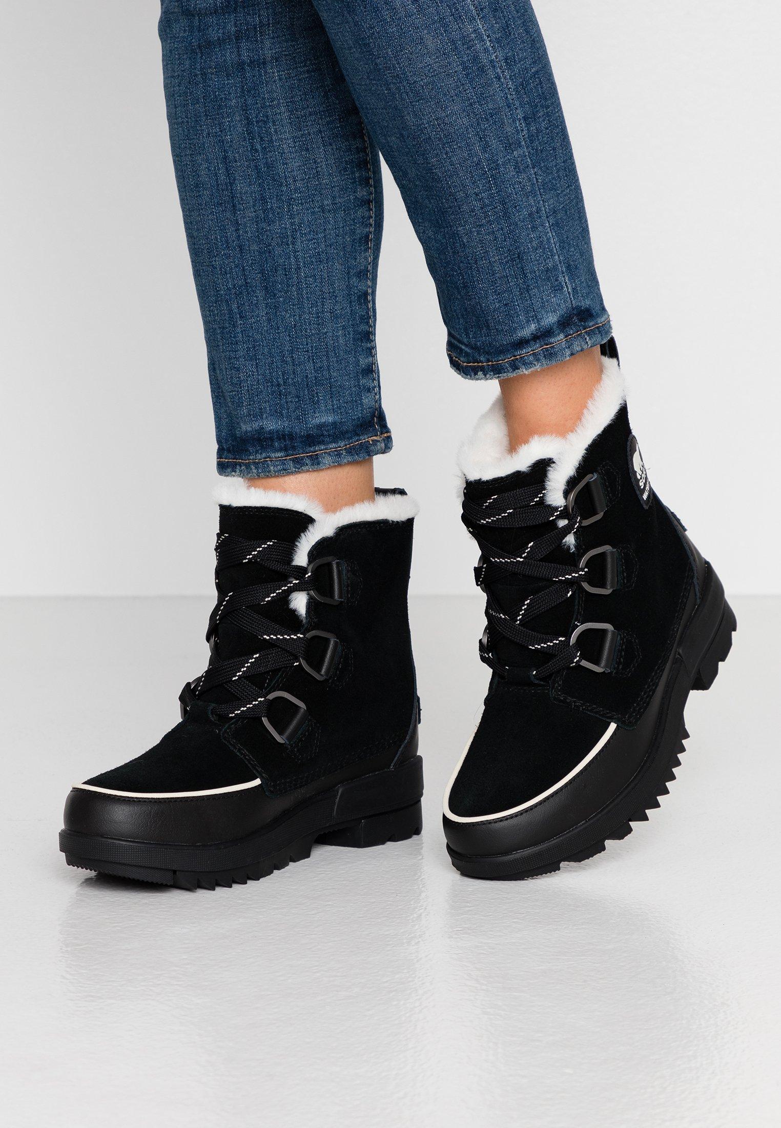 Sorel TORINO - Bottes de neige - black - Bottes femme Dégagement