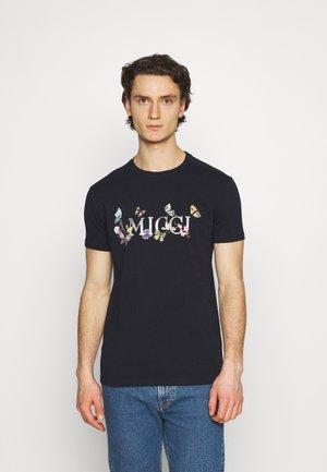 CAPUA - T-shirt con stampa - navy