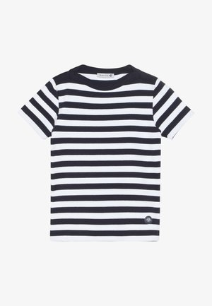 CARANTEC MARINIÈRE - T-shirt print - navire/blanc
