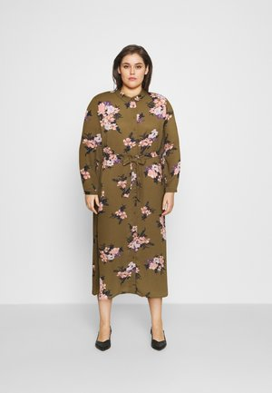 VMNEWALLIE  - Shirt dress - beech/newallie