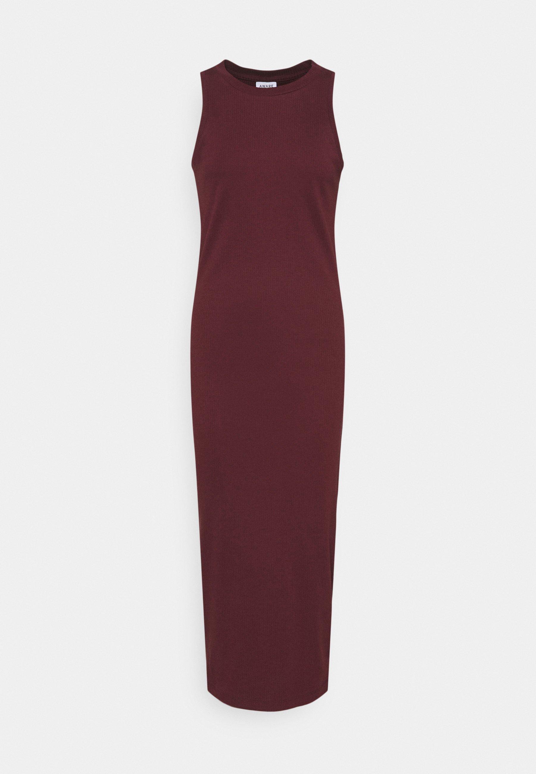 Women VMLAVENDER CALF DRESS  - Jersey dress
