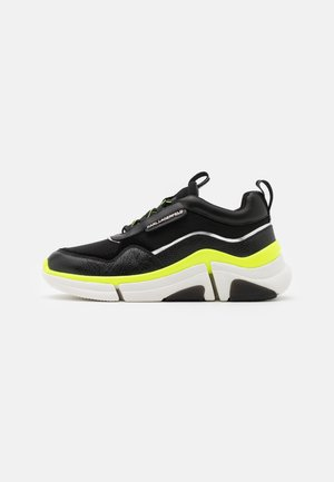 VENTURE LAZARUS LOOP MIX - Sneakers basse - black/yellow