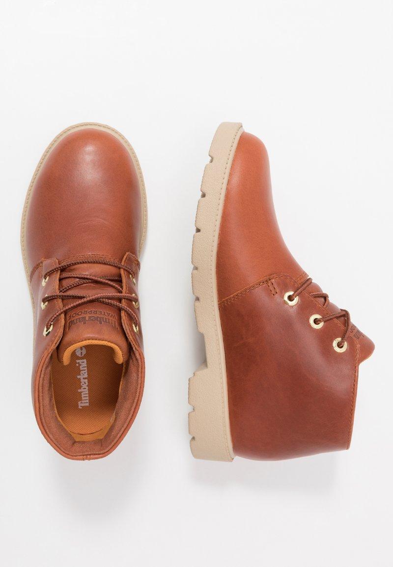 Timberland - CHUKKA WP - Volnočasové šněrovací boty - rust