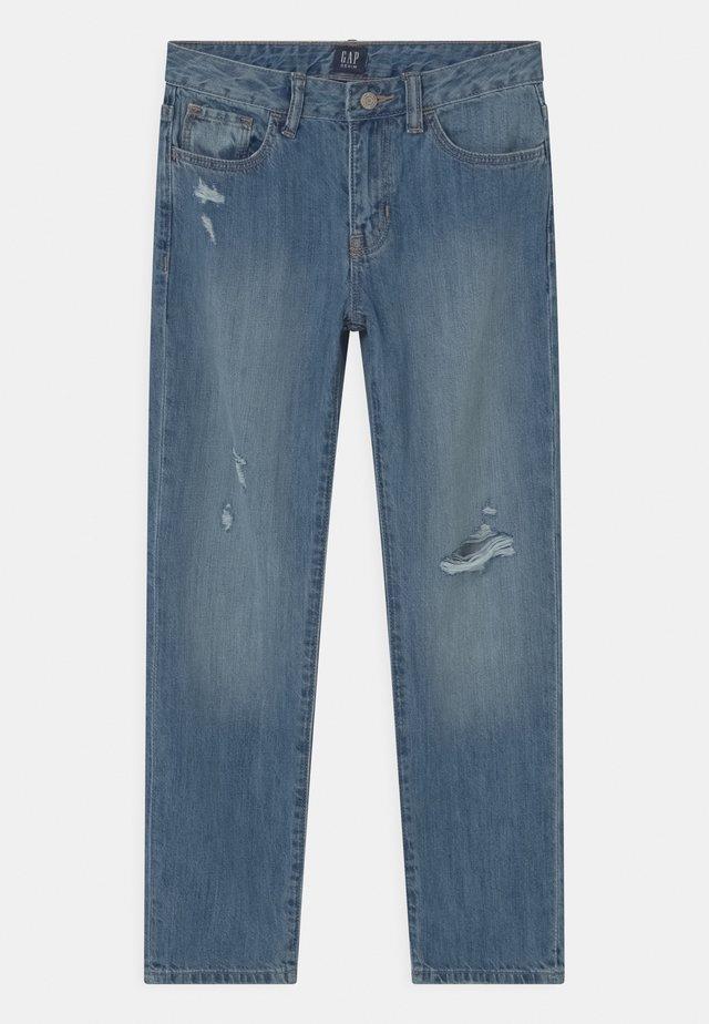 GIRL  - Jeans baggy - blue denim