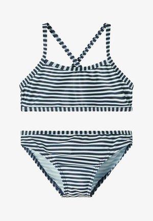 NMFFELISIA SET - Bikini - blue