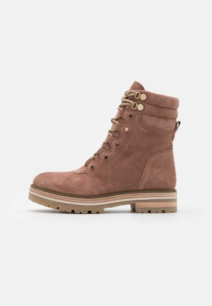 PAOLA - Lace-up ankle boots - antic