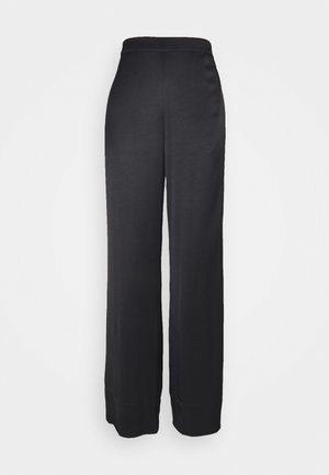 FRIGG WIDE PANTS - Pantaloni - black