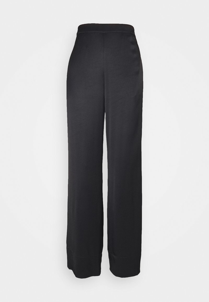 DESIGNERS REMIX - FRIGG WIDE PANTS - Trousers - black