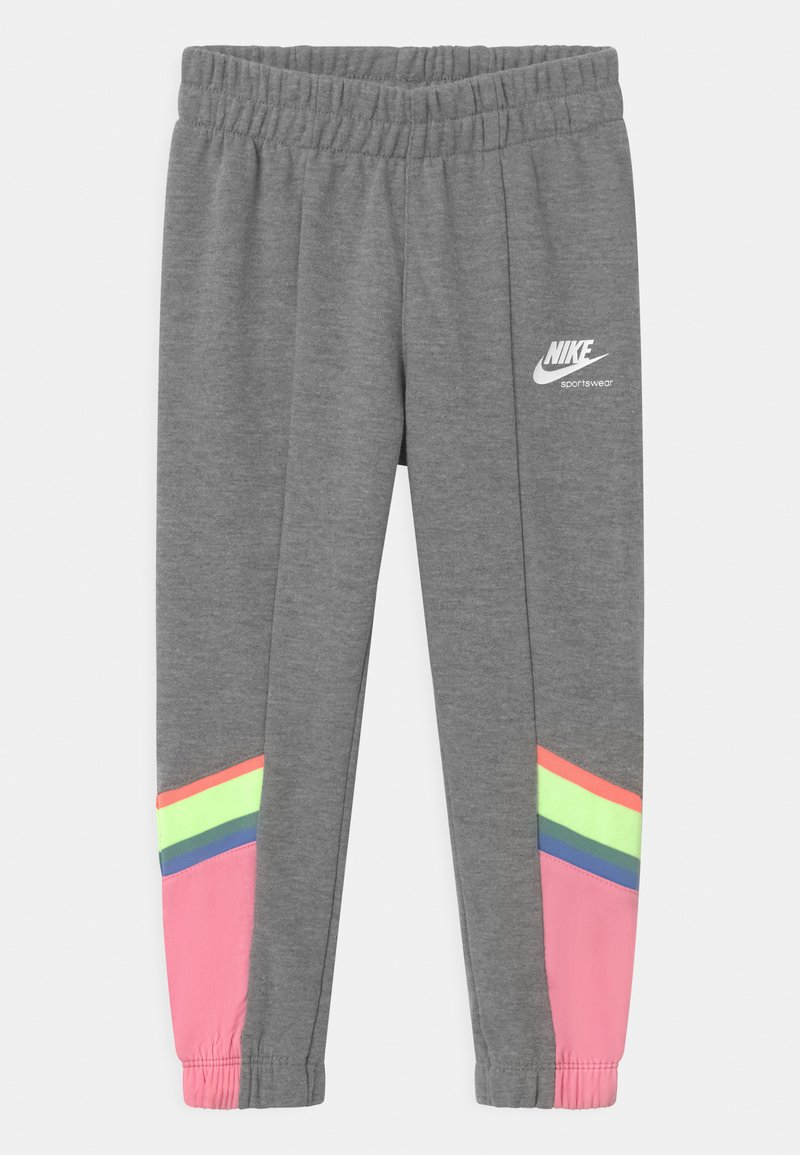 Nike Sportswear - HERITAGE - Teplákové kalhoty - carbon heather
