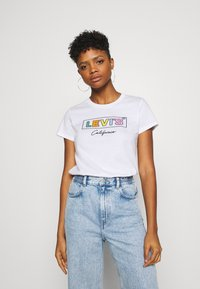 Levi's® - THE PERFECT TEE - T-shirt imprimé - cali box - 0