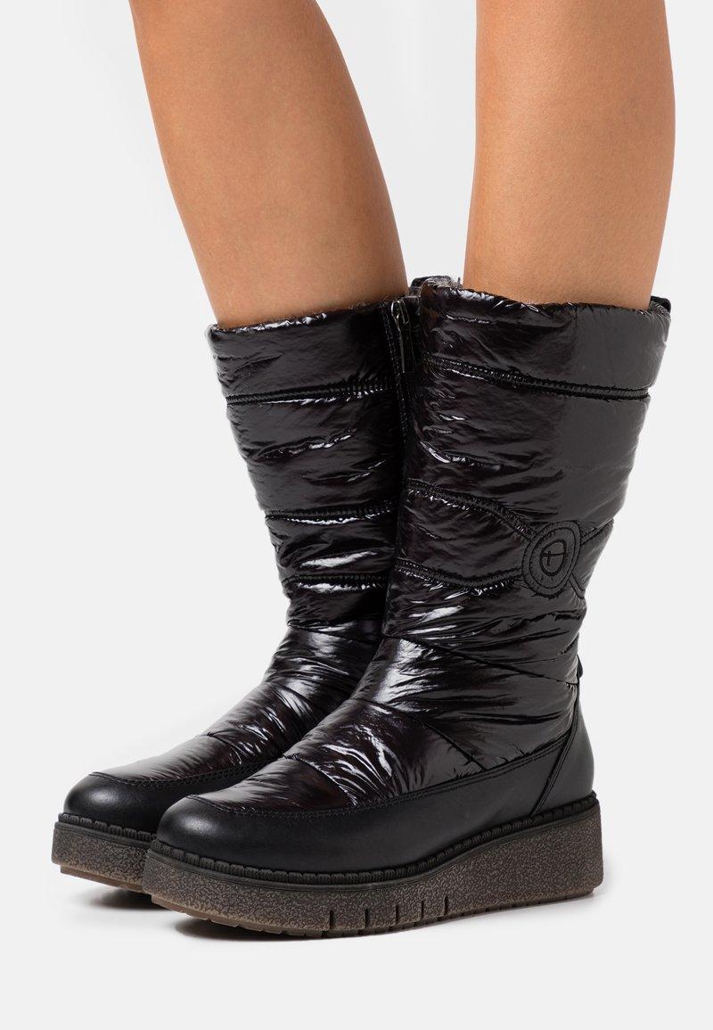 Tamaris - BOOTS - Śniegowce - black