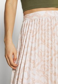 Glamorous - PRINTED MIDI SKIRT - A-Linien-Rock - nude - 4