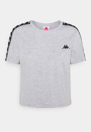 INULA - Camiseta estampada - grey melange