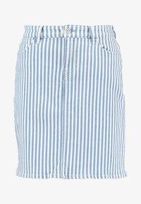 edc by Esprit - STRIPE  - Pencil skirt - blue light wash - 3