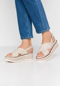 Carmela - Platform sandals - ice - 0
