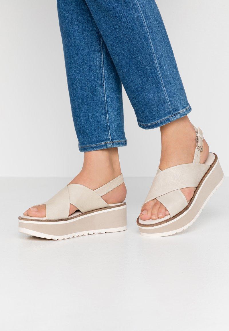 Carmela - Platform sandals - ice