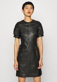 Ibana - ODILA - Shift dress - black - 0