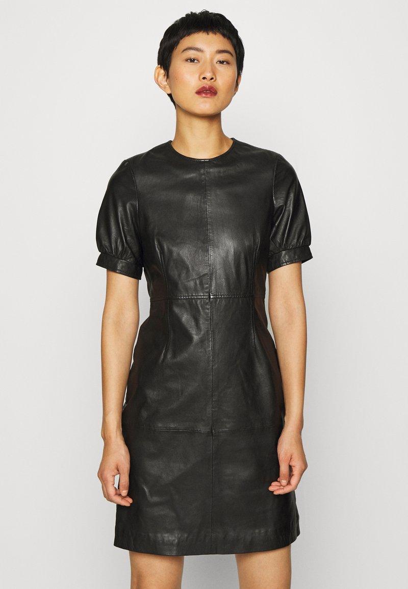 Ibana - ODILA - Shift dress - black