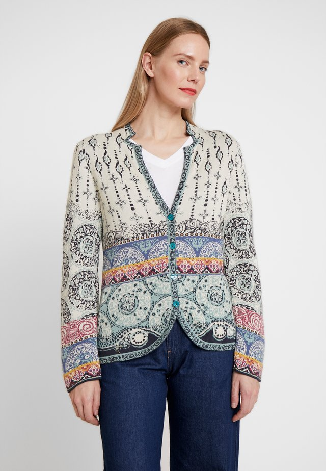 JACKET PATTERN - Cardigan - off-white