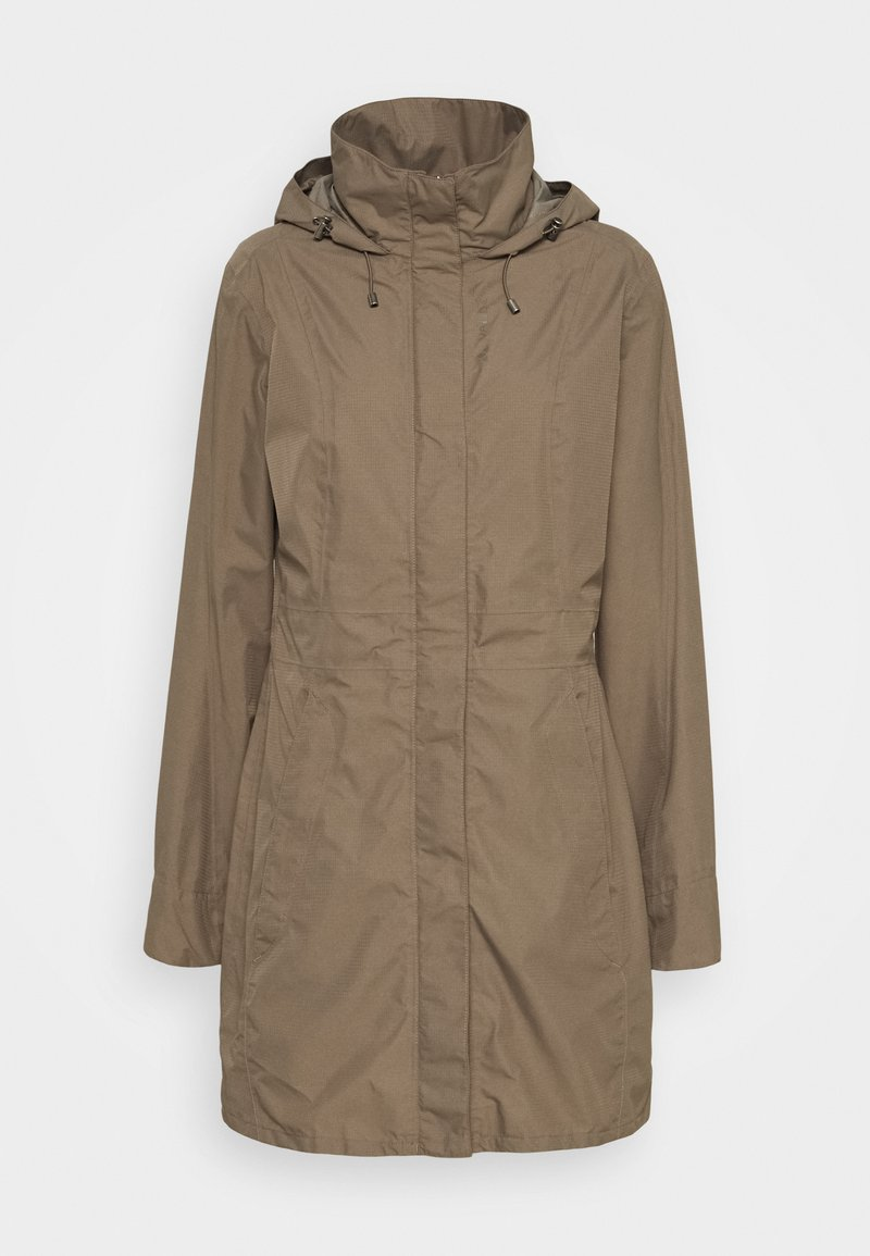Vaude - WOMEN'S KAPSIKI COAT - Hardshell jacket - coconut uni