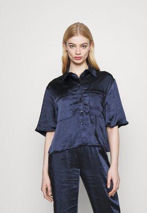 JORDANA - Button-down blouse - navy