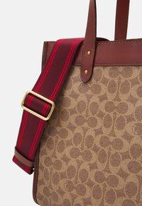 Coach - Handbag - tan/brown/rust - 5