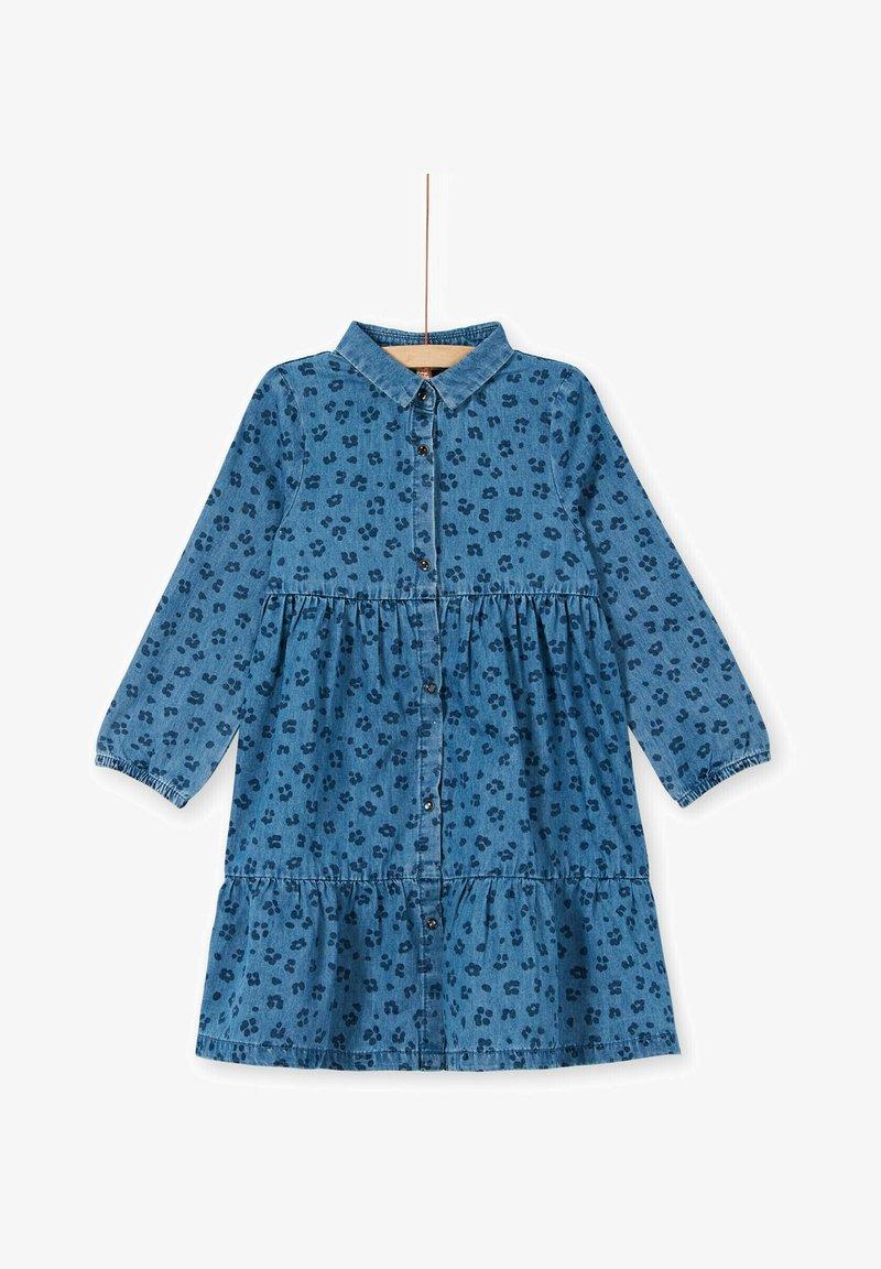 Du Pareil au Même - Denim dress - blue