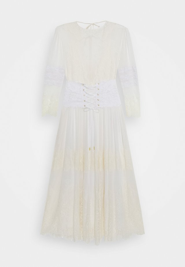 HIDDEN GEM DRESS - Robe longue - blanc