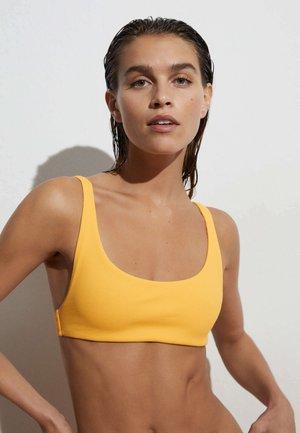 Bikini pezzo sopra - mustard yellow