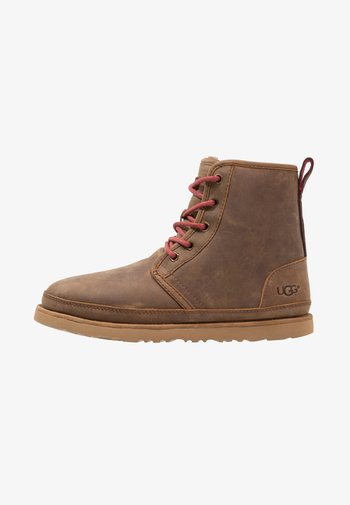 HARKLEY WATERPROOF - Lace-up ankle boots - grizzly